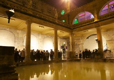 New Year's Eve at the Roman Baths