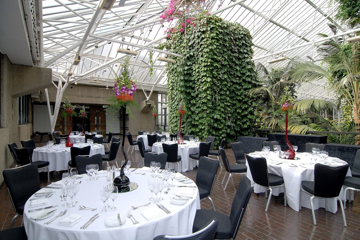 Private Dining at the Conservatory Terrace - Searcys at The Barbican