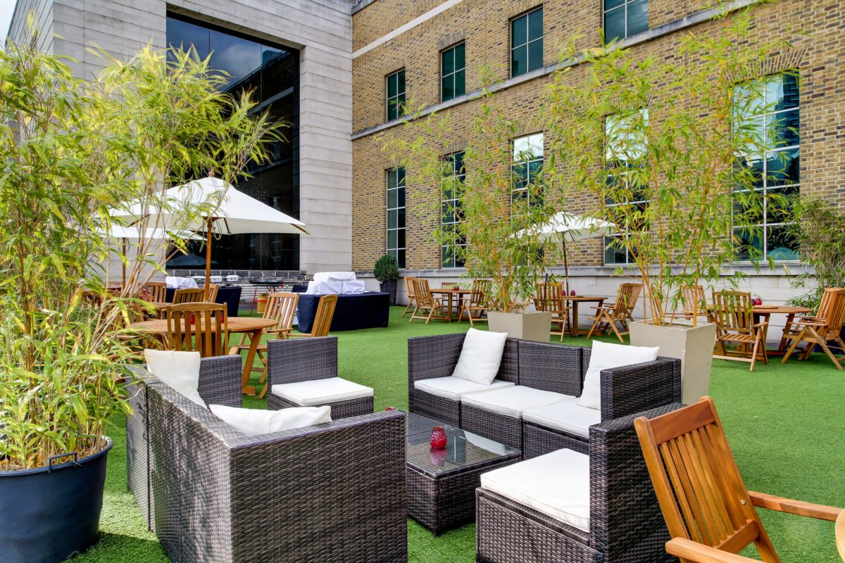 THE HAC Garden and PCR Terrace
