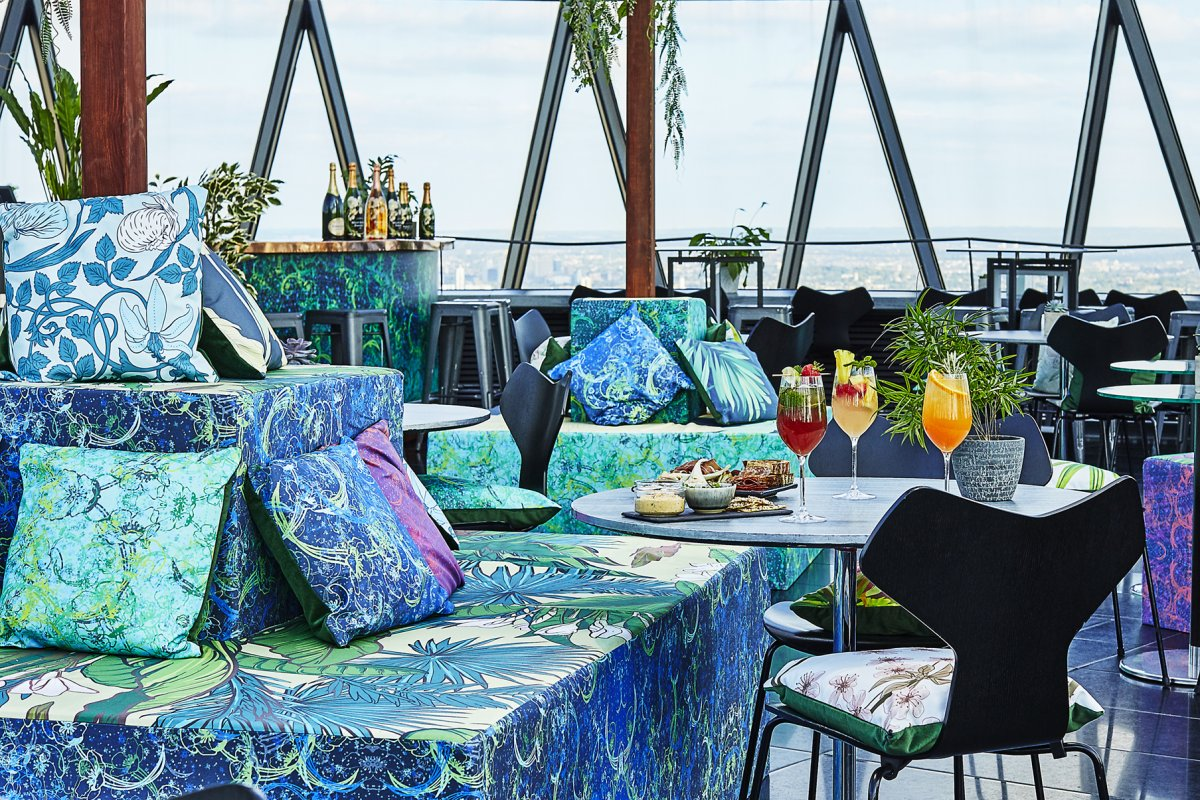 The Glasshouse at the Iris Bar by Searcys