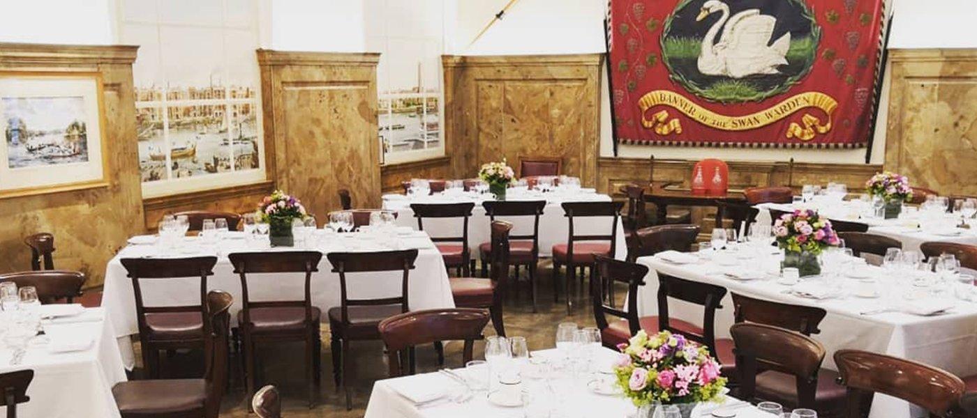 Swan Room Vintners Hall