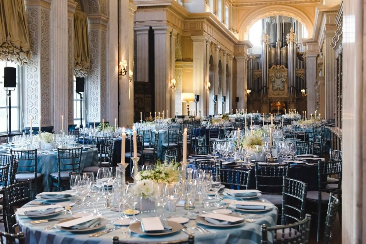 Long Library Private Dining and Events Blenheim Palace