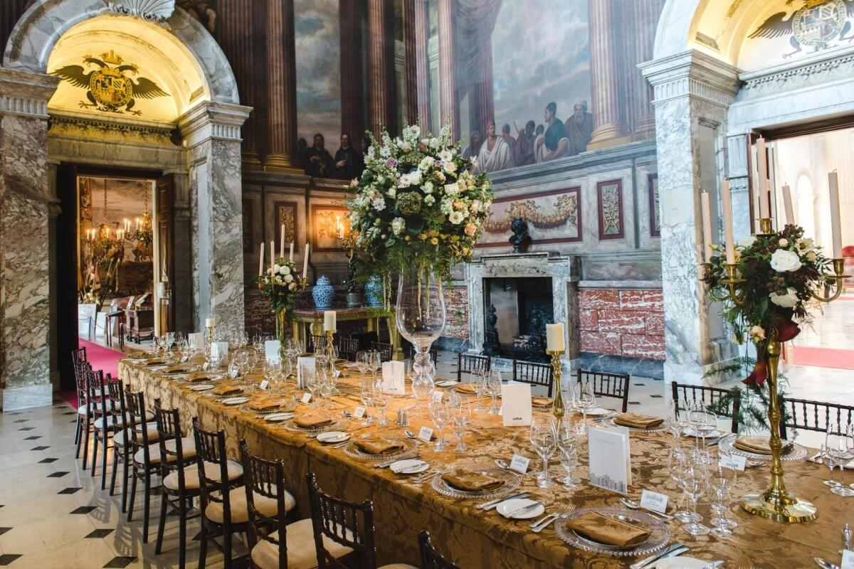 Saloon Blenheim Palace Private Dining