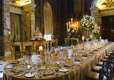 The Saloon Private Dining Blenheim Palace
